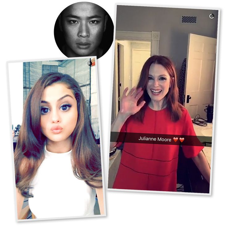 15 Celeb Hair and Makeup Pros to Follow on Snapchat | People - Hung Vanngo, hairstylist to Selena Gomez, Julianne Moore