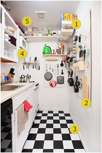 Look! Project Runway Star's Excellent Tiny Kitchen | The Kitchn