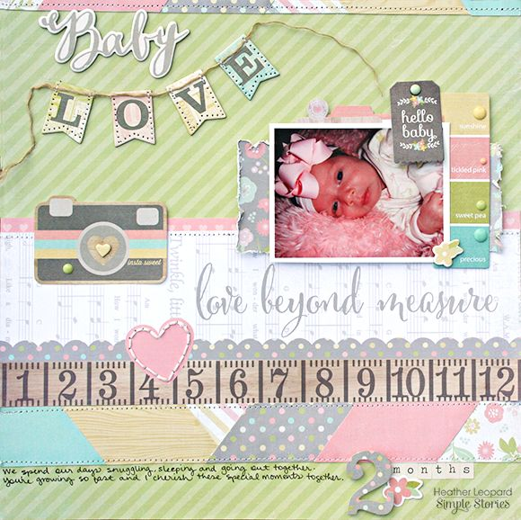 Layout created by Heather Leopard