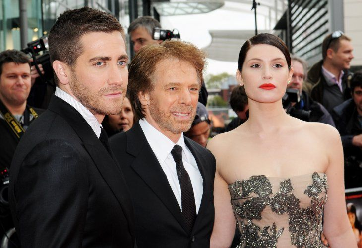 Jerry Bruckheimer, Jake Gyllenhaal, and Gemma Arterton at an event for Prince of Persia: The Sands of Time (2010)