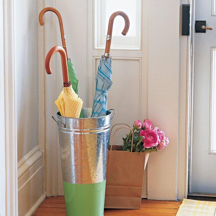 Bucket Umbrella Stand Skewers Stand For And Buckets
