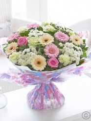 Large Mother's Day Pretty Pastel Hand-tied