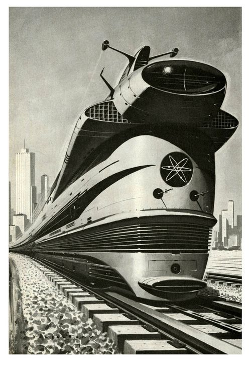 Atomic Locomotive, 1960 by Paul Malon