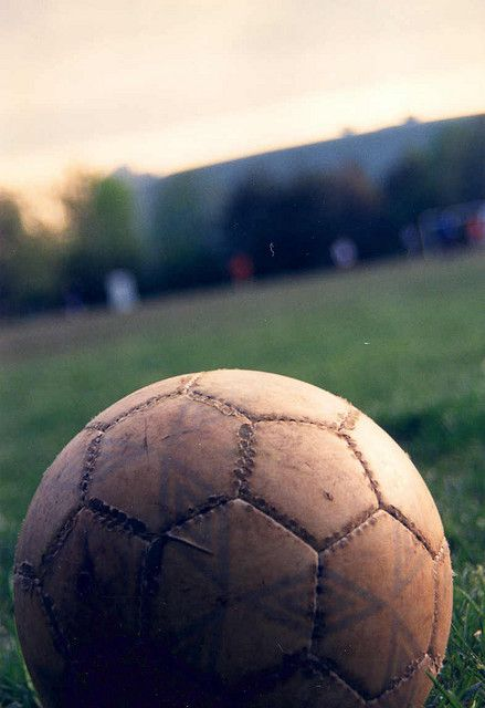 5. Again very simple, this picture offers a firsthand view of a soccer ball that can resemble the player as a person, having seen much game time and experienced great things. A ball and a player are closely intertwined because both rely on each other to move.