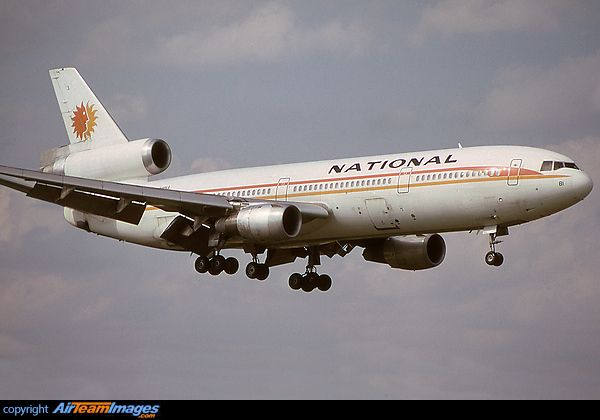 National Airlines McDonnell Douglas DC-10-30