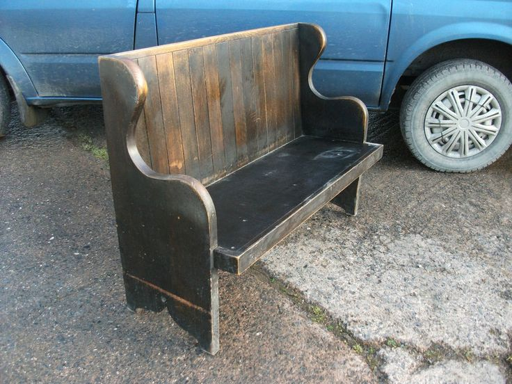 Bought! needs a tidy up and probably stain but perfect size for what I want it for and I like that it has a deep seat - 3ft 6in