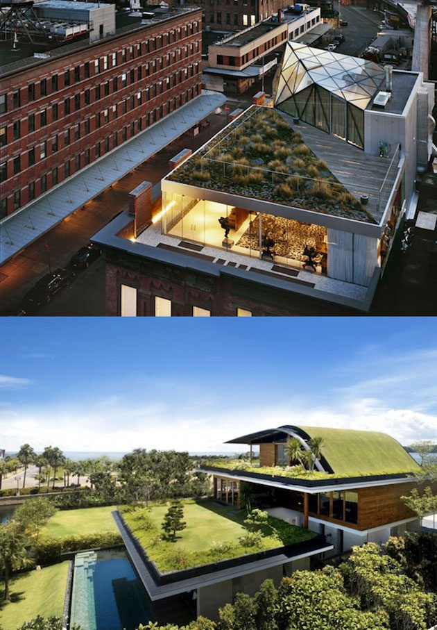 De jolies terrasses de toit