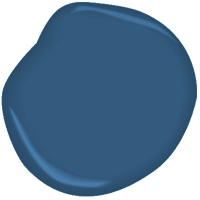 Prussian Blue CW-625 by Benjamin Moore [for the bedroom]
