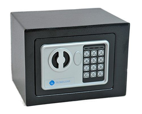 Homegear Small Electronic Safe Gun Money Passport Home Hotel Office Wall Cabinet - http://safescenter.com/wall-safes/homegear-small-electronic-safe-gun-money-passport-home-hotel-office-wall-cabinet/