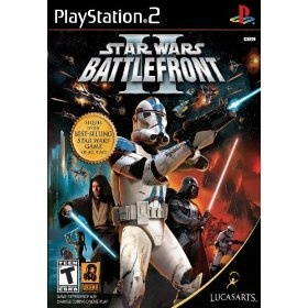 Star Wars Battlefront II, (star wars, video games, playstation 2, battlefront, ps2 games, games, adventure, action, 1, 17)