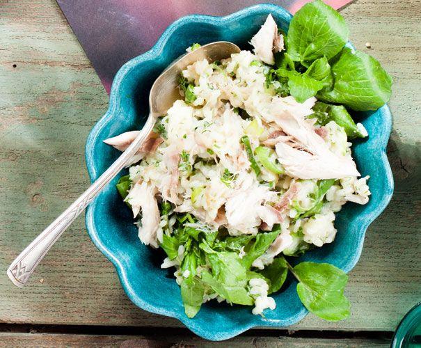 Recept: Risotto met gerookte makreel | Gezond Eten Magazine
