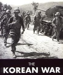 The Korean War was the first war instance of open warfare which pitted communism against capitalism. The U.S. believed in the domino theory, which stated that nations sharing borders with the communist countries were in imminent danger of falling under the sway of that country. North Korea had become a communist state with the backing of Mao Zedong's China. South Korea had also chosen democracy in the wake of WWII.