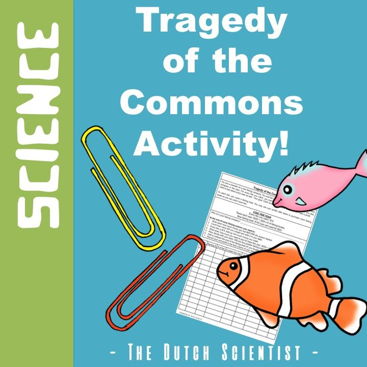 Tragedy Of The Common Activity For High School Sustainability Activitie Biology Student Data Essay By Garrett Hardin Question