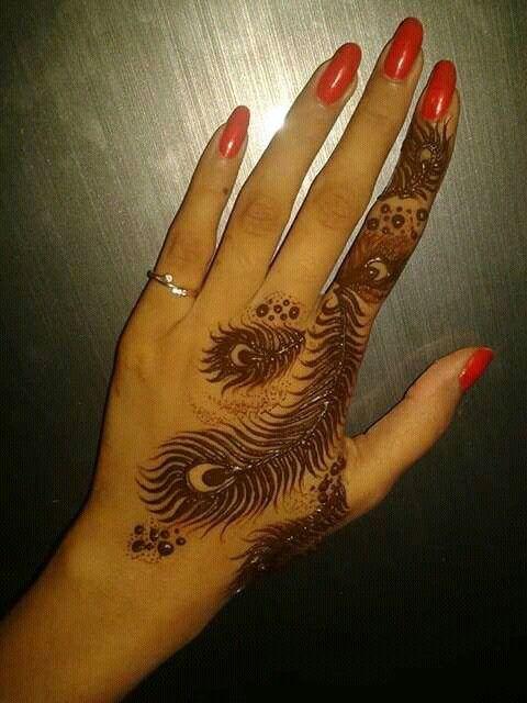 d0bb03402 Pin by Tulsi on Mehendi   Hand tattoos, Hand henna, Henna