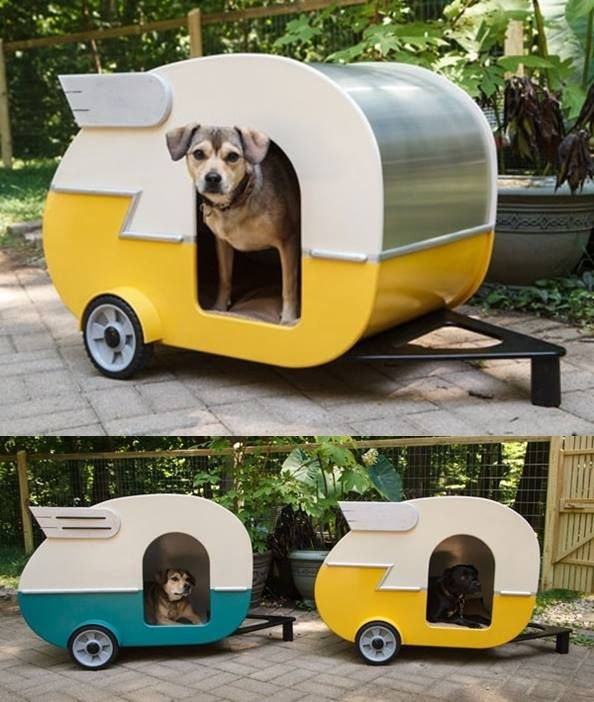 Homemade Dog House Camper Project
