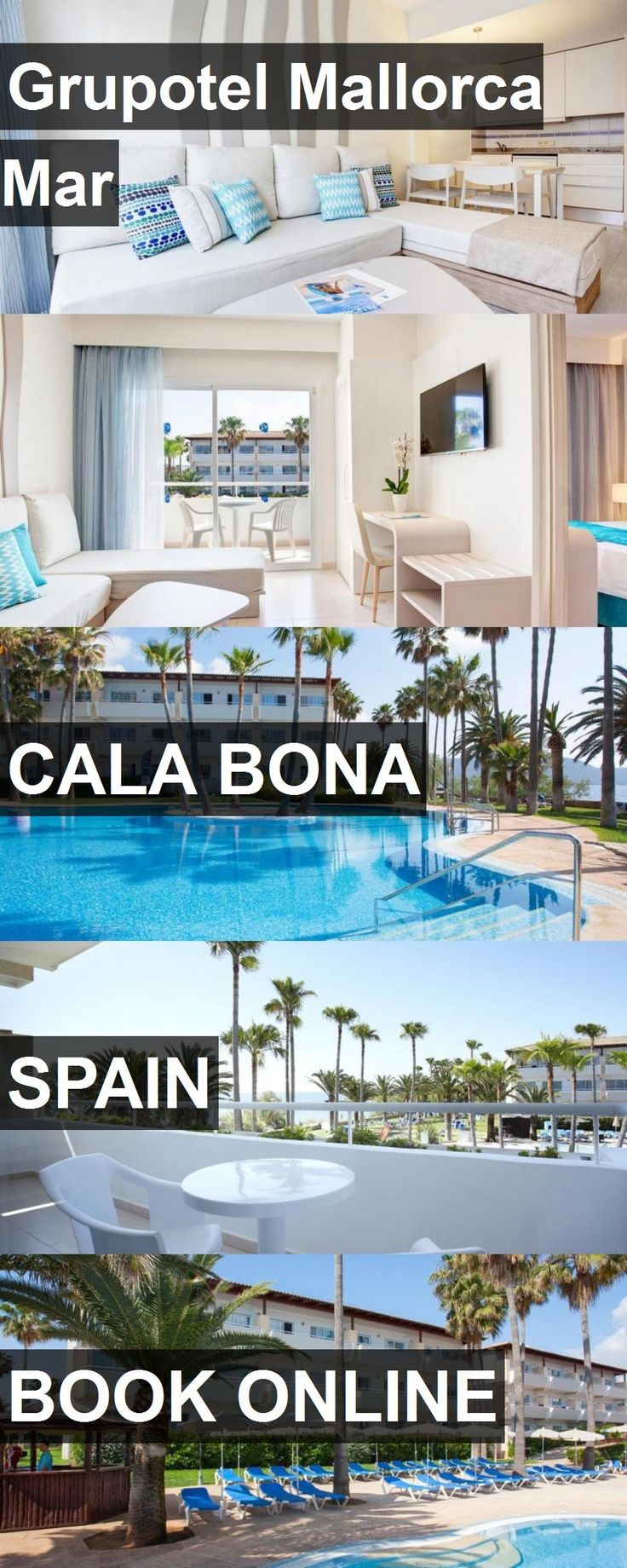 Hotel Grupotel Mallorca Mar in Cala Bona, Spain. For more information, photos, reviews and best prices please follow the link. #Spain #CalaBona #travel #vacation #hotel