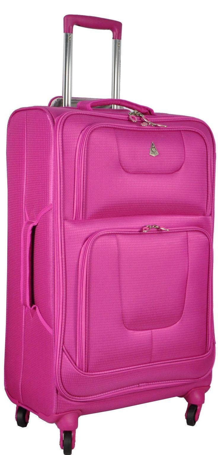 """Aerolite Super Lightweight World lightest Suitcase Trolley Cases Bag Luggage (29"""" Aqua 9976): Amazon.co.uk: Luggage"""