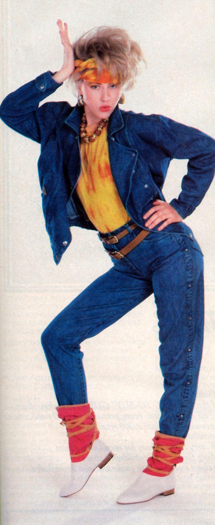 Glamour magazine, 1983. || Desert Lily Vintage
