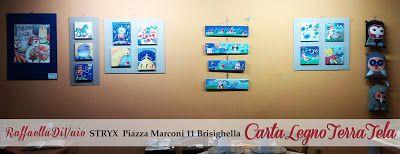 raffaelladivaio*illustrazione e creatività: COLORI PER LE FESTE l'esposizione delle festività 2016/2017 *CartaLegnoTerraTela* quarantaquattro opere per quattro diversi supporti: Disegni su Carta Pittura su Legno Bassorilievi in Terracotta Dipinti su Tela presso Stryx, piazza Marconi 11, tel. 3397514815 il locale più magico di Brisighella (Ra)!
