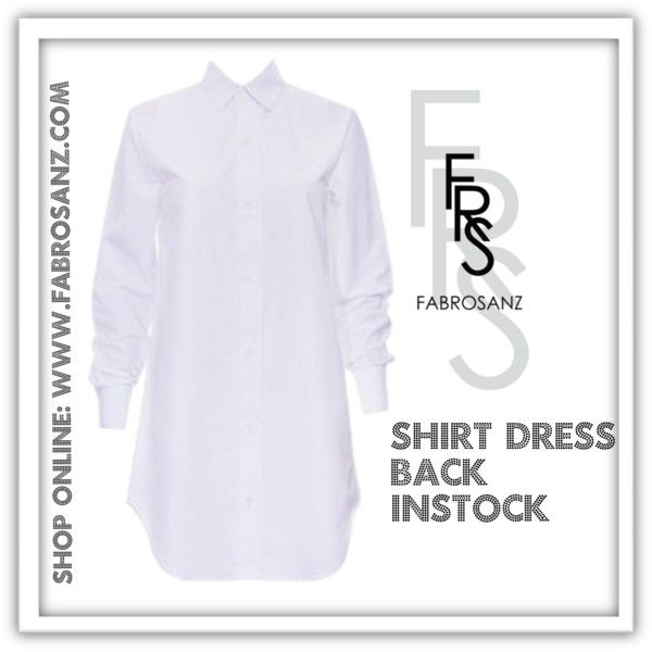 Shirtdress by FabroSanz on www.fabrosanz.com