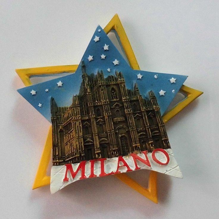 Italy Milan Cathedral Fridge Magnet
