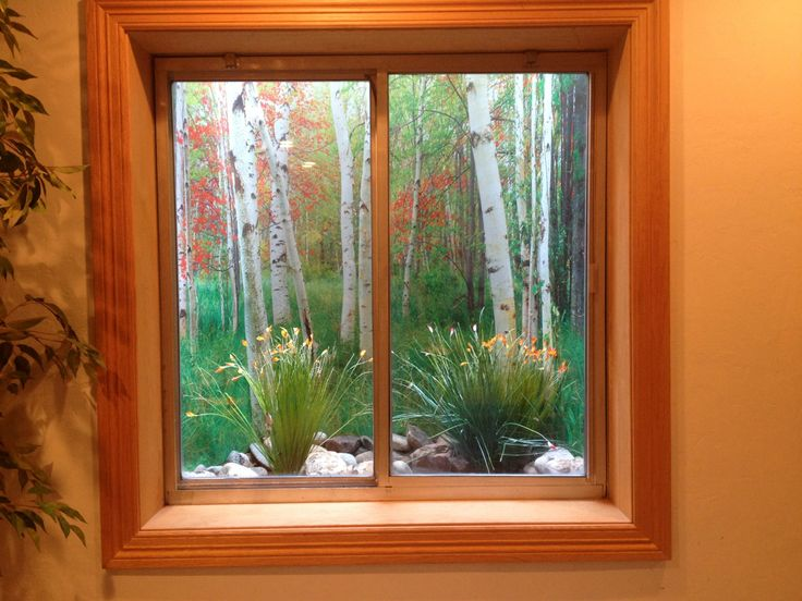 Window Well Scenes Are A Inexpensive Way To Hide Those