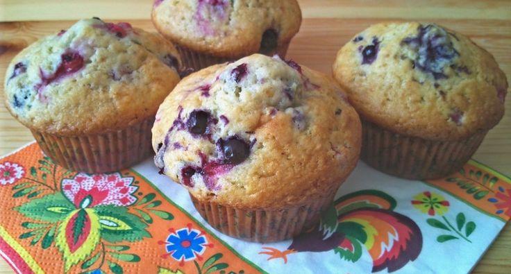 Erdei gyümölcsös muffin recept