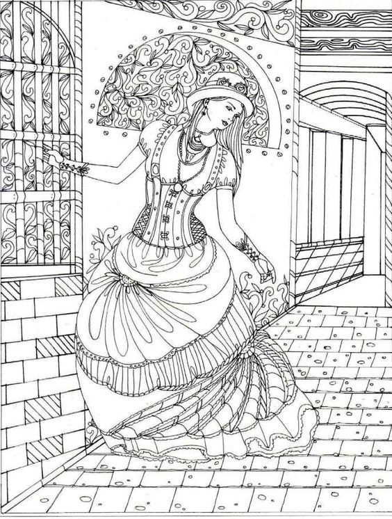 Adult coloring book: Steampunk coloring book (ColoringCraze Adult Coloring Books, Stress Relieving ... For Grownups) by Link Coloring: