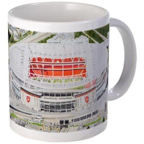Emirates Stadium - Arsenal FC Mugs on CafePress.com...shop online today!