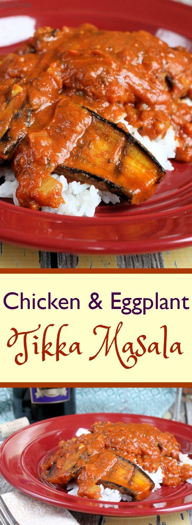 Chicken & Eggplant Tikka Masala