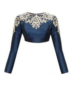 Latest Designer Blouse..  http://www.kmozi.com/designer-blouse/latest-designer-blouse-1019