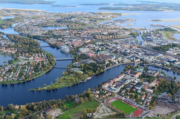 Klarälven, Karlstad.