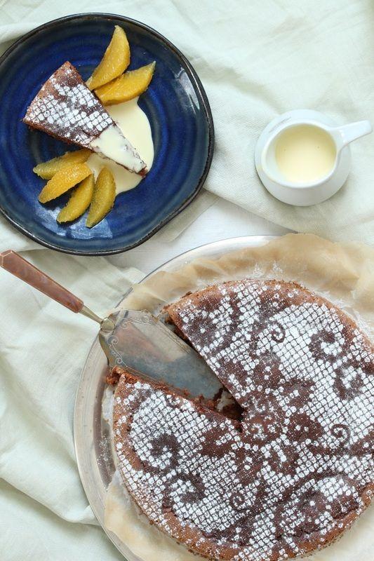 Konfektkake med appelsinsmak fra krem.no
