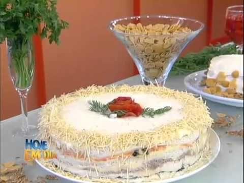 Aprenda com Edu Guedes a fazer uma  torta fria em camadas #Receitas