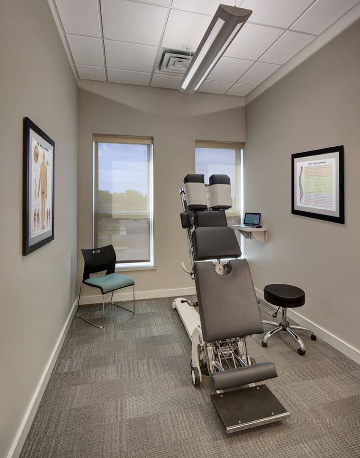 Image result for chiropractic office room