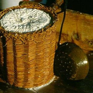 Traditional ricotta basket (sheep milk). #sicily #cheese