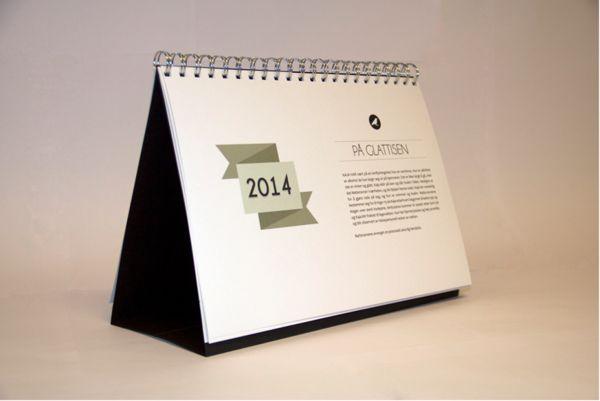 Calendar. Natteravnene 2014 by Elise Nyengen, via Behance