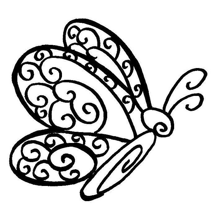 151 best pages to color images on pinterest | coloring sheets ... - Butterfly Printable Coloring Pages