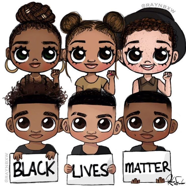 3 Cartoon Characters Always Together : Black cartoon characters with braids adultcartoon