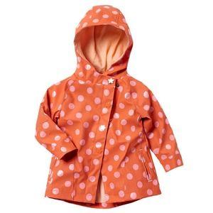 【Kids】水玉フードレインコート|ヴェルボデ  #キッズファッション #ベビーファッション #ヴェルボデ #レインコート