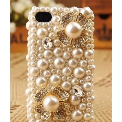 Now, this is bling!!: Cell Phones Cases, Iphone Cases, Iphone 4S, Style, Pearls Iphone, Iphone Covers, Cell Phones Covers, Things, Flower