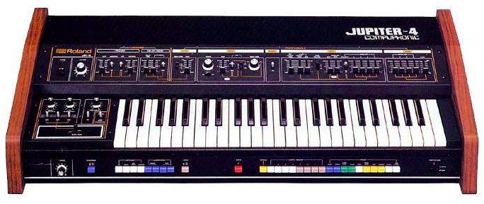 Jupiter-4 Roland Synthesizer