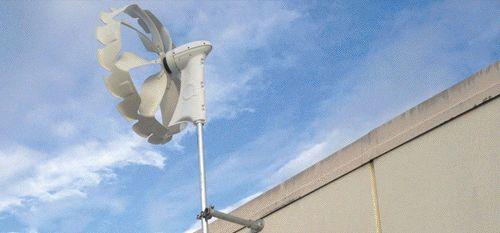 turbine innovative Anakata, piccole, silenziose e soprattutto molto produttive.