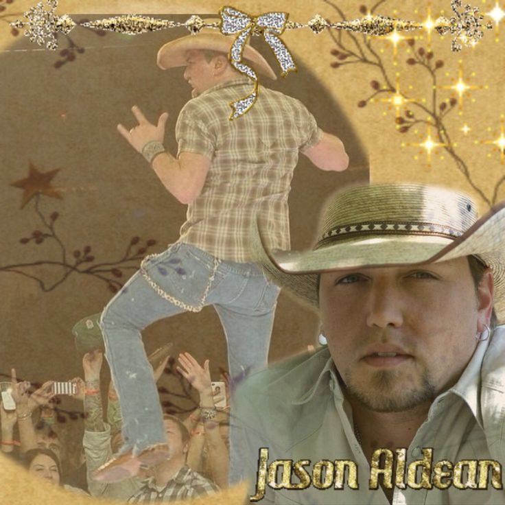 Jason Aldean Made by Debbie Leon ~CrazyAldeanGal~