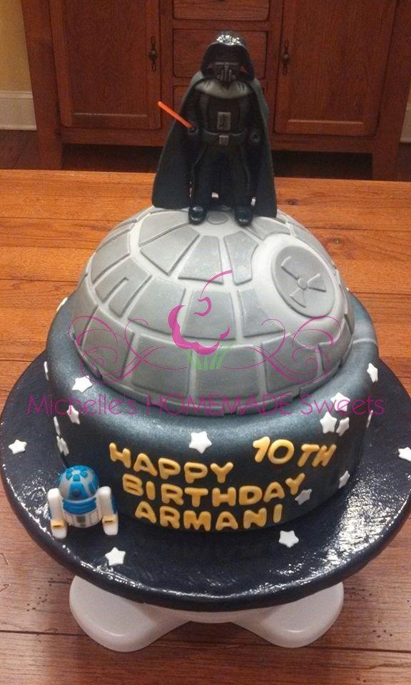 Darth Vader Birthday Cake Star Wars Cake 5th Birthday