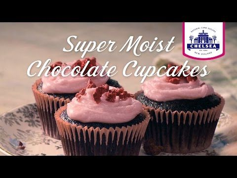 Super Moist Chocolate Cupcake Recipe | Chelsea Sugar