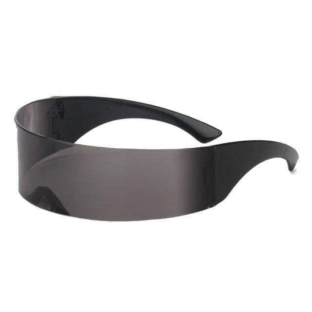 funny futuristic wrap around monob costume sunglass mask novelty glasses part HK