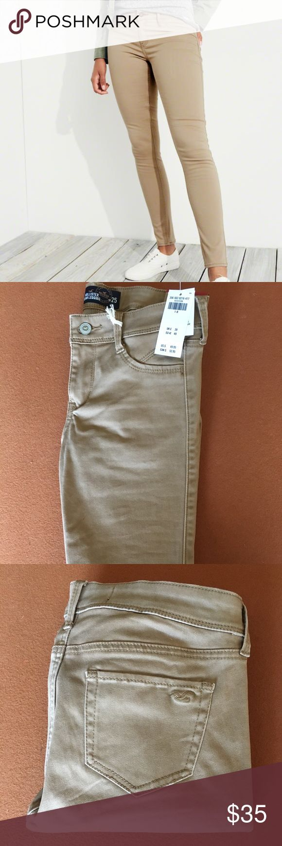 Hollister Jean Legging Hollister Jean Legging- super skinny and super comfortable. Brand new with tags- never worn. Hollister Jeans Skinny