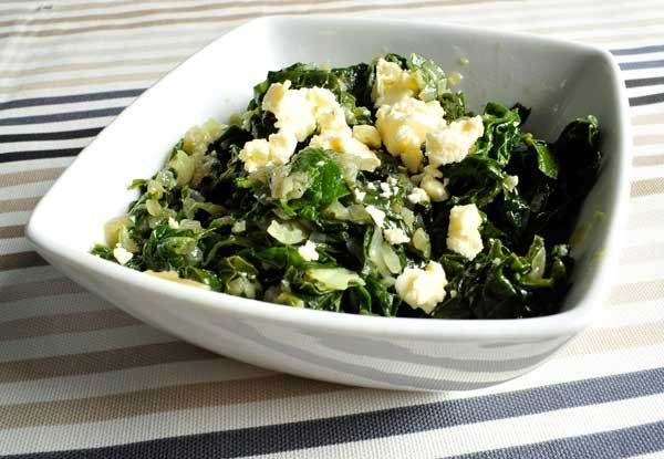 Dig into Tyson Beckford's Garlic Spinach