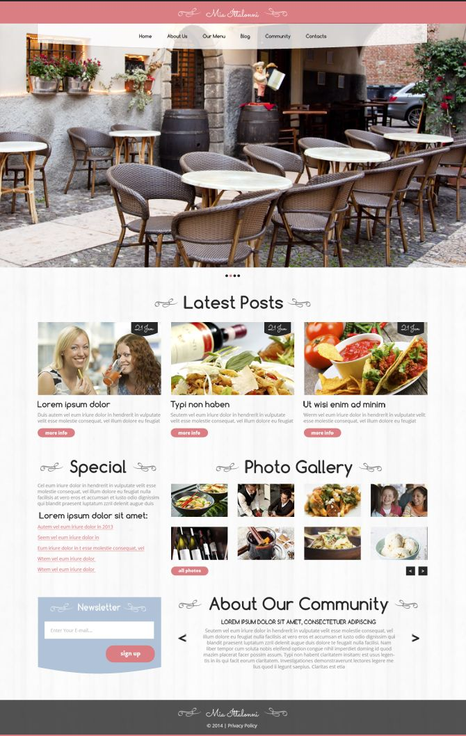 134 best free website templates images on pinterest